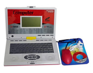 Talking Educational Laptop 80 Activities with Mouse CD Drive Games - Snapdeal