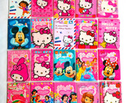 Cartoon HELLO KITTY Credit Card Holder PVC Leather ID Card Bag Business Porte Carte Simple Travel Passport Cover 14 9 6CM - AliExpress