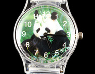 Panda Lovely Children Wrist Watch Boy Girl Cartoon Kid Sport Transparent China Deals Baby Gift Watches - AliExpress