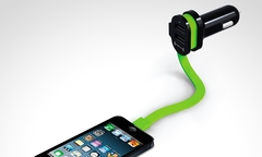 $14.990 por cargador triple para auto Fuse Trío + cable lightning. Incluye despacho - Groupon