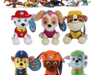 6PCS LOT 20CM Puppy Paw Patrol Plush Toys Cartoon Stuffed Dogs Doll Soft Stuffed Animals Christmas GIft For Children Brinquedos - AliExpress