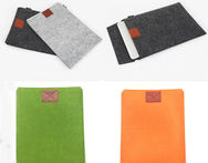 Free Shipping Dark Gray Woolen Felt Envelope Laptop Sleeve Bag Case Skin For MacBook Air Pro 11 13 15 - AliExpress