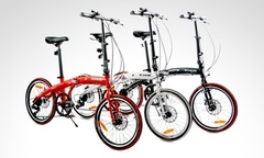 129 990 por bicicleta plegable en color a eleccion con Bolujie - Groupon