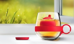 $11.990 en vez de $38.990 por 2 mug Tea Ball con infusor de silicona en color a elección. Incluye despacho - Groupon