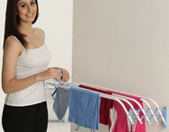 Bonita Wonderwall Clothes Dryer Small Blue Colour - Snapdeal