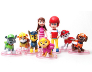 8 pcs set pvs paw patrol toys cartoon dog interactive anime action figure for children gift kids toys anime collection PP002 - AliExpress