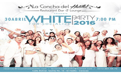 White Party 4 o 8 Tragos Incluidos - TuDescuentón