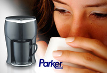 Cafetera personal Parker Electronics 43% - Cuponatic