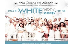 White Party For Socialize 2016 4 Cocteles para 1 o 2 personas - Aprovecha