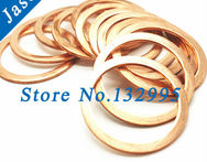 M3 3mm 6mm 1mm Copper Flat Washer Seal Washer Brass flat washers bronze washers Copper Washer M3 - AliExpress