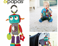 10 inch baby toys 0 12months mamas papas baby rattles on the toddlers robot bell mobility in the crib baby toy for newborns baby - AliExpress