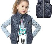 retail 2015 kids girl new autumn winter thick vest children fashion cute dot warm waistcoat girl clothing 11colour 3 12years - AliExpress