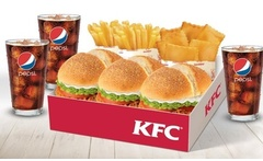 Desde 2 390 por combo Doble Crispy o Super Crunch o Box para compartir en Kentucky Fried Chicken 40 Sucursales - Groupon