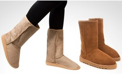Botas australianas largas en color a eleccion - Groupon