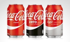 Desde 8 990 por 24 o 48 latas de Coca Cola regular Zero o Light Incluye despacho - Groupon