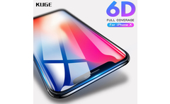 Full Cover 9H 6D Glass For iPhone X Screen Protector For iPhone X 10 6 6s 7 8 Plus Tempered Glass iPhoneX glass Screen Protector - AliExpress