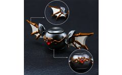 New hot Top Beyblade bat Fidget Spinner Metal Hand Spinner Cupid Devil Wings Fidget Toys Spinning Anti Stress kid toy - AliExpress