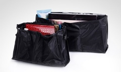 6 990 por 2 organizadores de cartera color negro Incluye despacho - Groupon