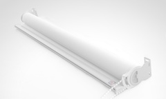 Desde 8 990 por cortina roller screen color blanco en tamano a eleccion Incluye despacho - Groupon