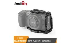 SmallRig BMPCC 4K Half Cage for Blackmagic Design Pocket Cinema Camera Cage With Nato Rail Arri Locating Hole Could Shoe 2254 - AliExpress