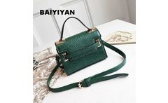 Fashion Croco PU Leather Shoulder Bag Messenger Crossbody Bag Women s Tote Bag Small Ladies Flap Handbag Purse - AliExpress
