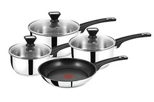 Tefal 4 Piece Set from Jamie Oliver for 59 99 With Free Delivery 70 Off - Groupon