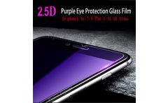 Protective Glass On The For iPhone 6 7 Tempered Glass Screen Protector Anti Blue Light Front Glass For iPhone 6 S 7 8 XS XR Plus - AliExpress