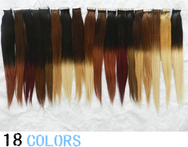 Remy Ombre Color Tape Hair Extension Dip Dye Skin Weft Hair 100grams - AliExpress
