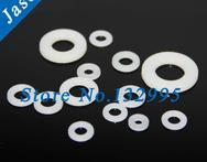 M3 100pcs Nylon flat washer din125 plastic washer Standard Metric Nylon Flat Thick Washers - AliExpress