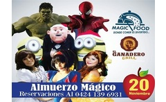 Entrada al espectaculo Magic Food Almuerzo Magico con Las Princesas Super Heroes Minios - Aprovecha
