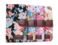 Wallet Leather Stand with card holder for HTC ONE M9 back filp cover fashion cotton prints pattern skin Mobile Phone Bags - AliExpress
