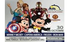 Entrada al espectaculo Magic Food Desayuno Magico con Mickey Mouse Minnie Capitan America Iron Man y Frozen - Aprovecha