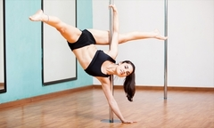 Desde $12.900 por 8 o 12 clases de pole dance con New Models Chile - Groupon
