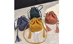 New 2019 Fashion Dream Design Handbags High Quality Women Messenger Bags Tassel Bucket Shoulder Crossbody Tote Faux Suede - AliExpress