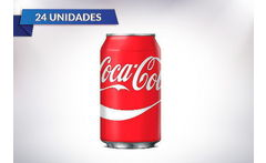 Outlet Pack 24 Latas 350 cc Coca Cola Normal - Cuponatic