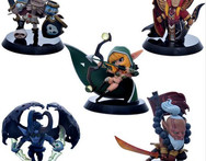 5pcs lot Dota 2 Game Action Figure Toys Boxed PVC Action Figures Collection dota2 Toys free shipping W96 - AliExpress