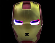 The Avengers 2 Figures Toys Iron man Motorcycle Helmet Mask Tony Stark Mark Cosplay with LED Light Action Figure Kids Gift W80 - AliExpress