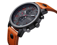 Men Watches Luxury Brand Curren Quartz Watch Leather Strap Army Military Sport Watch Relogio Masculino Relojes Hombre 2015 AB436 - AliExpress