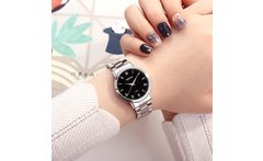 XIAOYA New Fashion Women Wrist Watches Stainless Steel Band Luxury Quartz Watch Women Casual Female Clock Montre Femme 2019 - AliExpress