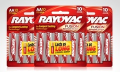 7 990 en vez de 18 990 por pack de 30 pilas Rayovac Fusion Advance Incluye despacho - Groupon