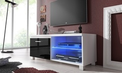 Mueble para television con luces led desde 99 - Groupon