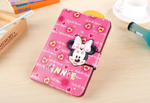 Cute 3D Fashion cartoon mickey minnie mouse Flip Magnetic Leather stand CASE Cover for iPad mini 1 2 3 mini 3 for kids children - AliExpress