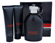 Kit Hugo Boss just different. Perfume + After shave + Shower gel. Envío a todo el país. - Descontate
